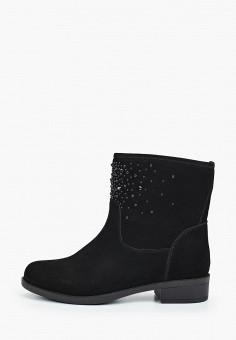 Полусапоги, Tervolina, цвет: черный. Артикул: TE007AWGUCW9. Обувь / Сапоги / Полусапоги
