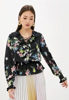 Блуза, Ted Baker London, цвет: черный. Артикул: TE019EWHQDV2. Одежда / Блузы и рубашки