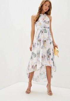 Платье, Ted Baker London, цвет: розовый. Артикул: TE019EWHQHE8. Одежда / Платья и сарафаны / Вечерние платья