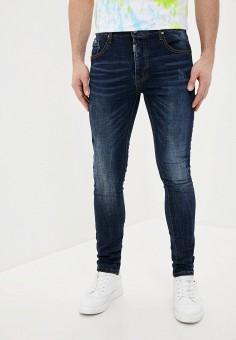 Джинсы, Terance Kole, цвет: синий. Артикул: TE020EMJCMR7. Одежда / Джинсы / Зауженные джинсы