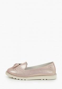 Лоферы, Tf's, цвет: золотой. Артикул: TF003AWIRQA5. Обувь / Обувь с увеличенной полнотой