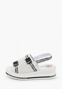 Босоножки, Tf's, цвет: белый. Артикул: TF003AWIRQD6. Обувь / Обувь с увеличенной полнотой