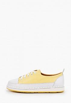 Кеды, Tf's, цвет: желтый. Артикул: TF003AWIRQE3. Обувь / Обувь с увеличенной полнотой