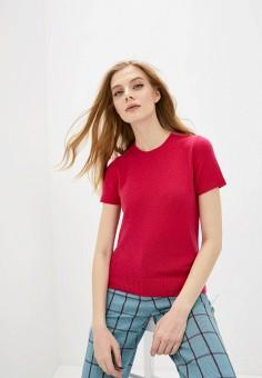 Джемпер, Theory, цвет: розовый. Артикул: TH008EWIAXB0. Одежда / Джемперы, свитеры и кардиганы / Джемперы и пуловеры / Джемперы