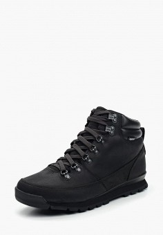 Ботинки, The North Face, цвет: черный. Артикул: TH016AMVYK43. Обувь / Ботинки / Высокие ботинки
