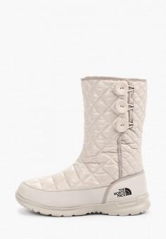 Дутики, The North Face, цвет: белый. Артикул: TH016AWFQMY1.