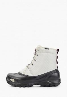 Дутики, The North Face, цвет: белый. Артикул: TH016AWFQMY5.