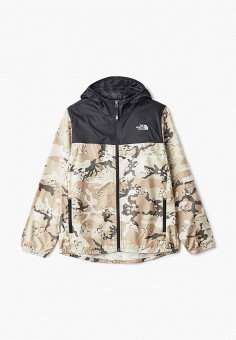 Ветровка, The North Face, цвет: хаки. Артикул: TH016EBEMDS4. The North Face