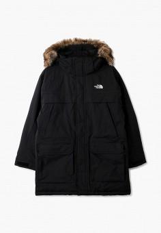 Пуховик, The North Face, цвет: черный. Артикул: TH016EBGMYY2. Мальчикам / Одежда / Верхняя одежда / Куртки и пуховики
