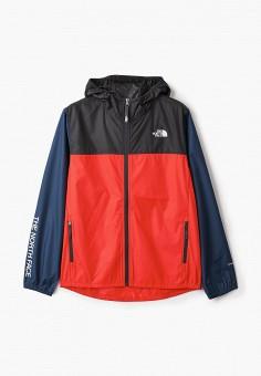 Ветровка, The North Face, цвет: красный. Артикул: TH016EBISXQ5. Мальчикам / Одежда / Верхняя одежда
