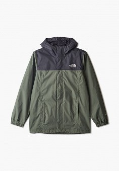 Ветровка, The North Face, цвет: зеленый. Артикул: TH016EBISXR7.