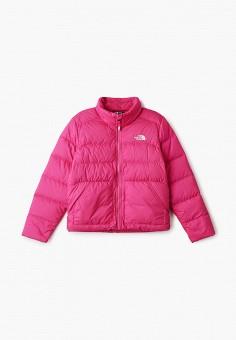 Пуховик, The North Face, цвет: розовый. Артикул: TH016EGGMYX3.