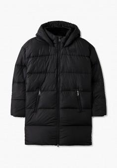 Пуховик, The North Face, цвет: черный. Артикул: TH016EGGMYY0. Девочкам / Одежда / Верхняя одежда / Куртки и пуховики