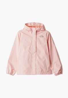 Ветровка, The North Face, цвет: розовый. Артикул: TH016EGISXR4.