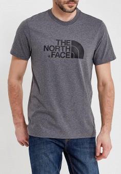 Футболка, The North Face, цвет: серый. Артикул: TH016EMANVX4.
