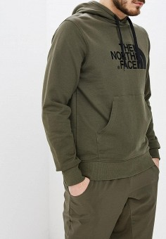 Худи, The North Face, цвет: хаки. Артикул: TH016EMEAEX3. The North Face