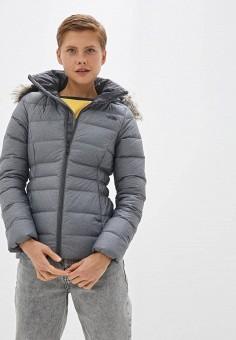 Пуховик, The North Face, цвет: серый. Артикул: TH016EWFQLY3. Одежда / Верхняя одежда / Пуховики и зимние куртки / Пуховики