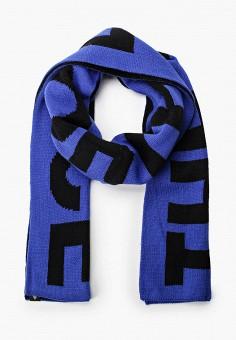 Шарф, The North Face, цвет: синий, черный. Артикул: TH016GUFQLF4. Аксессуары / Платки и шарфы