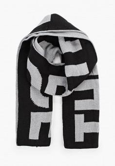 Шарф, The North Face, цвет: серый, черный. Артикул: TH016GUFQLF5. Аксессуары / Платки и шарфы