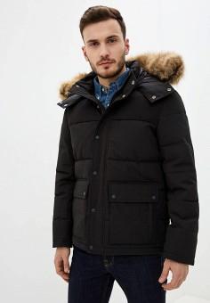 Куртка утепленная, The Kooples, цвет: черный. Артикул: TH021EMFVOU3. Одежда / Верхняя одежда / Пуховики и зимние куртки / Зимние куртки
