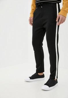 Брюки спортивные, The Kooples, цвет: черный. Артикул: TH021EMHMCC0. Одежда / Брюки / Спортивные брюки