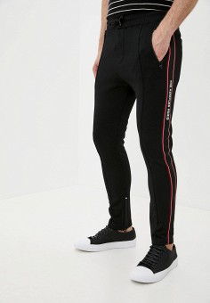 Брюки спортивные, The Kooples, цвет: черный. Артикул: TH021EMHMCD3. Одежда / Брюки / Спортивные брюки