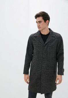Пальто, The Kooples, цвет: серый. Артикул: TH021EMJVYZ3. Одежда / Верхняя одежда / Пальто