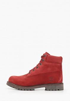 Ботинки, Timberland, цвет: бордовый. Артикул: TI007AGGHFH2.