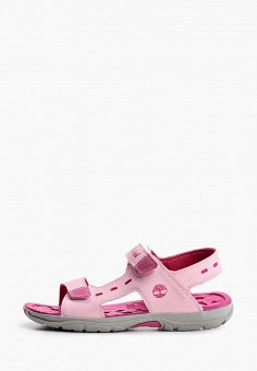Сандалии, Timberland, цвет: розовый. Артикул: TI007AGIQJL4.