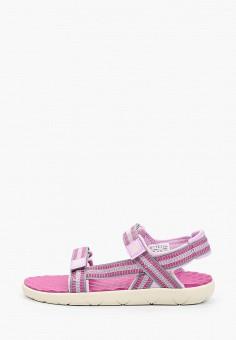 Сандалии, Timberland, цвет: розовый. Артикул: TI007AGIQKG2.
