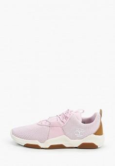Кроссовки, Timberland, цвет: розовый. Артикул: TI007AGIQKG8.