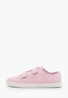 Кеды, Timberland, цвет: розовый. Артикул: TI007AGIQKH7.