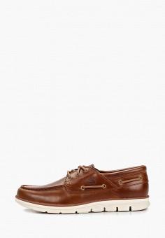 Топсайдеры, Timberland, цвет: коричневый. Артикул: TI007AMELDN4.