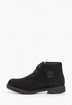 Ботинки, Timberland, цвет: черный. Артикул: TI007AMGHCL1. Обувь / Ботинки / Низкие ботинки