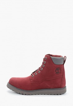 Ботинки, Timberland, цвет: бордовый. Артикул: TI007AMGHCM3.