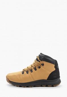 Ботинки трекинговые, Timberland, цвет: желтый. Артикул: TI007AMGHCR8.