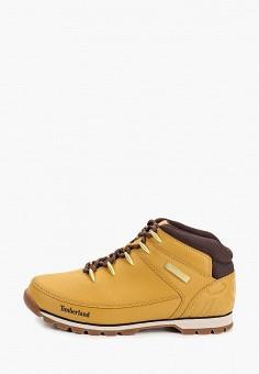 Ботинки, Timberland, цвет: желтый. Артикул: TI007AMGHCS3.