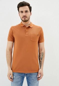 Поло, Tiffosi, цвет: оранжевый. Артикул: TI018EMIMQT0. Одежда / Футболки и поло / Поло