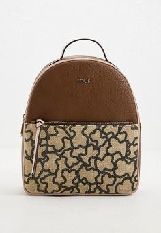 Рюкзак, Tous, цвет: коричневый. Артикул: TO011BWHHDW7. Аксессуары / Рюкзаки