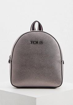 Рюкзак, Tous, цвет: серый. Артикул: TO011BWHHEB6. Аксессуары / Рюкзаки