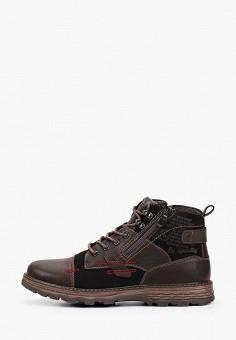 Ботинки, Тофа, цвет: коричневый. Артикул: TO012AMGOXG2. Обувь / Ботинки