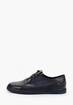 Ботинки, Тофа, цвет: синий. Артикул: TO012AMIQPH0. Обувь / Ботинки / Низкие ботинки