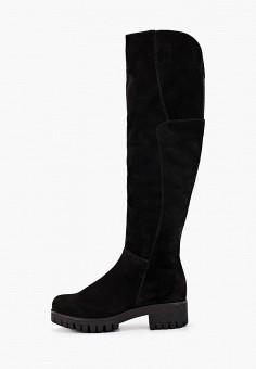 Ботфорты, Тофа, цвет: черный. Артикул: TO012AWGOXK7. Обувь / Сапоги / Ботфорты