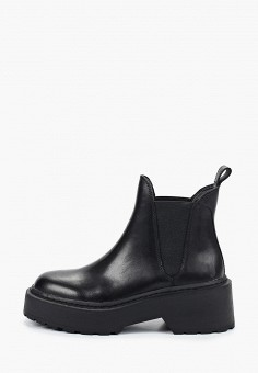 Ботинки, Topshop, цвет: черный. Артикул: TO029AWIKIO9. Обувь / Ботинки