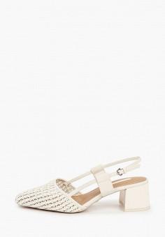 Туфли, Topshop, цвет: белый. Артикул: TO029AWIQUC7. Обувь / Туфли