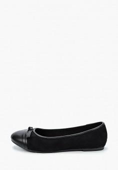 Балетки, Evans, цвет: черный. Артикул: TO029AWISPE1. Обувь