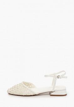 Туфли, Topshop, цвет: белый. Артикул: TO029AWIVVV4.