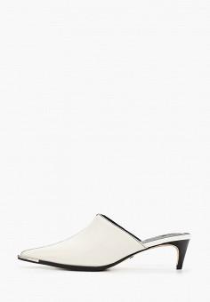 Мюли, Topshop, цвет: белый. Артикул: TO029AWIXTA3. Обувь / Сабо и мюли