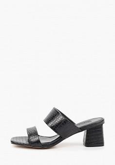 Сабо, Topshop, цвет: черный. Артикул: TO029AWJDXA4. Обувь / Сабо и мюли