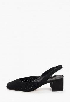 Туфли, Topshop, цвет: черный. Артикул: TO029AWJGJR8. Обувь / Туфли